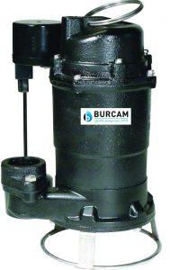 BURCAM 400700P 3-4HP Sewage Grinder Pump