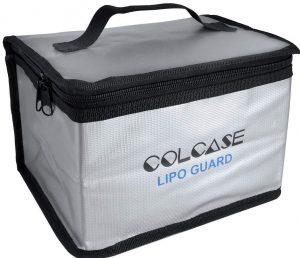 COLCASE Fireproof Double Zipper Lipo Battery Guard