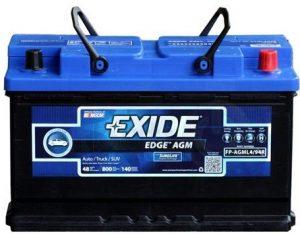 Exide Edge FP-AGML4 94R Flat Plate Battery