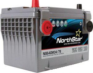 NorthStar Pure Lead 3478 Battery NSB-AGM