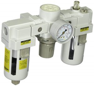 PneumaticPlus SAU4000M-N04G Three-Unit Combo