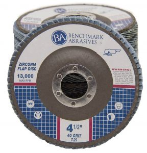 "Benchmark Abrasives 4.5"" X7.8"""