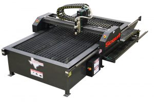 Firebird Plasma cutter table