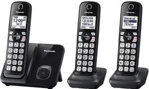 Panasonic KX-TGD513B Expandable Cordless Phone