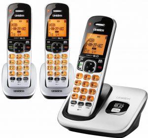 Uniden D1760 -3 DECT 6.0 Cordless Phone
