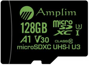 Amplim 128GB Micro SD Card