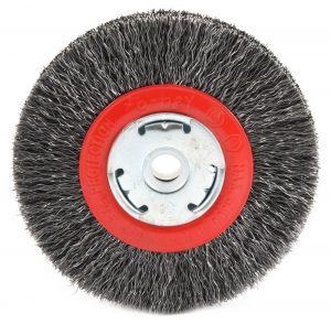 Forney 72761 Wire Bench Wheel brush