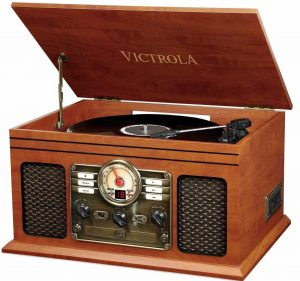 Victrola Nostalgic Classic Wood 6-IN-1 Turntable