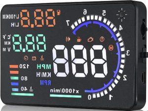 A8 HUD OBDII EUOBD Compass