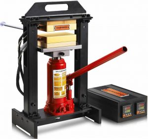 Dabpress 6-Ton Hydraulic Bottle Jack heat