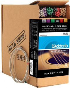 D'Addario Acoustic Guitar Strings