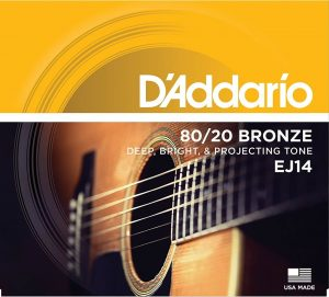 D'Addario EJ14 80 20 Acoustic Guitar strings