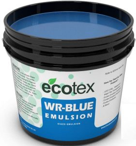 Ecotex WR-BLUE Water resistant emulsion