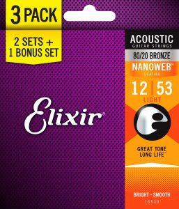 Elixir Strings 16539 Light