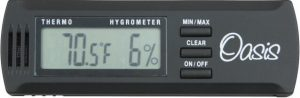 Oasis OH1with OH-2 Digital Hygrometer