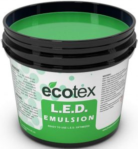Screen Print Direct Ecotex L.E.D. Emulsion