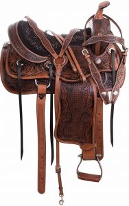 AceRugs All Natural Cowhide Western Leather saddles