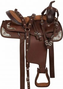 AceRugs Texas Silver Western Show Horse reining saddles