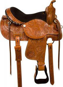 AceRugs Western Comfy Leather reining saddles