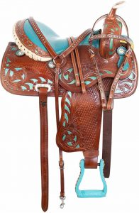 AceRugs Western Pleasure Horse reining Saddle
