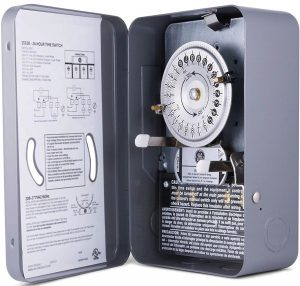 GE 24 Hour Indoor Water heater timer switch