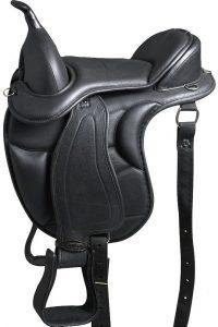 Hilason Saddle Endurance Pleasure Leather