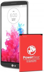 PowerBear LG G3 replacement battery