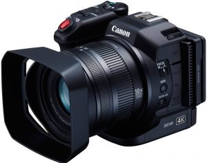 Canon XC10 4K Camera for Church use