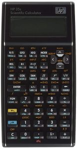 HP 35s Calculator for the FE Exam