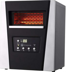 Homegear Infrared Heater for RV Boondocking