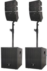 PRORECK Club Powered PA Speaker