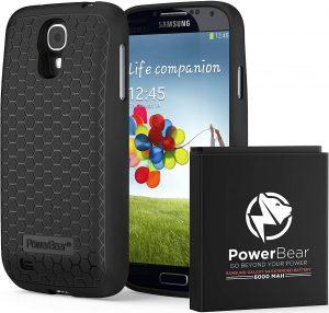 PowerBear Samsung Galaxy S4 Battery