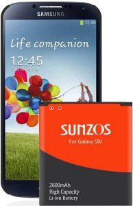 SUNZOS Galaxy S4 Battery