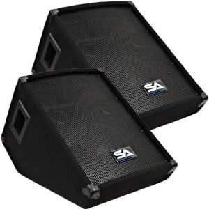 Seismic Audio Pair Speakers for Church Auditoriums