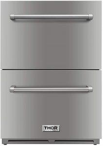"Thor Kitchen 24"" Double Drawer Refrigerator"