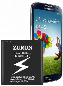 ZURUN S4 Battery for Galaxy S4