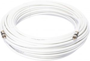 Cimple White RG6 Coaxial Cable