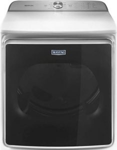 Maytag White Gas Dryer 9.2Cu ft