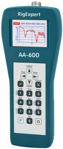 RigExpert AA-600 HF-VHF Antenna Analyzer
