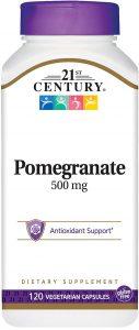 21st Century Pomegranate Veg Capsules