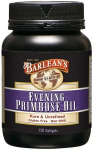 Borlean's Organic Oils Evening Primrose oil