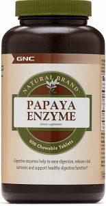 GNC Natural Brand Papaya Enzyme