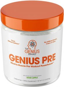 Genius Pre-Workout Powder