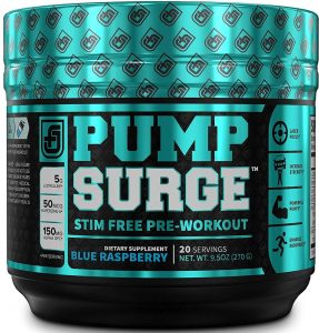 Jacked Factory PUMPSURGE Caffeine free