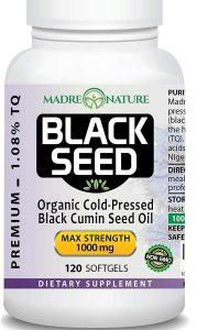 Madre Nature Organic Black Seed Oil