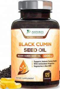 Nature's Nutrition Black Seed Oil Capsules