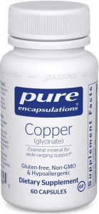 Pure Encapsulations Copper Supplement