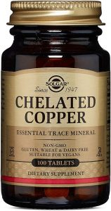 Solgar Chelated Copper Supplement for Grey Hair