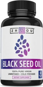 Zhou Nutrition Black Seed Oil Capsules