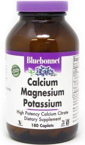 BlueBonnet Calcium Magnesium Potassium Supplements